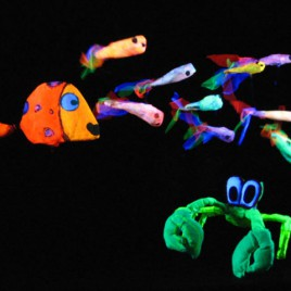 la zopenca black light puppet show for kids verdever