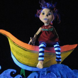 black light puppets show for kids, la zopenca